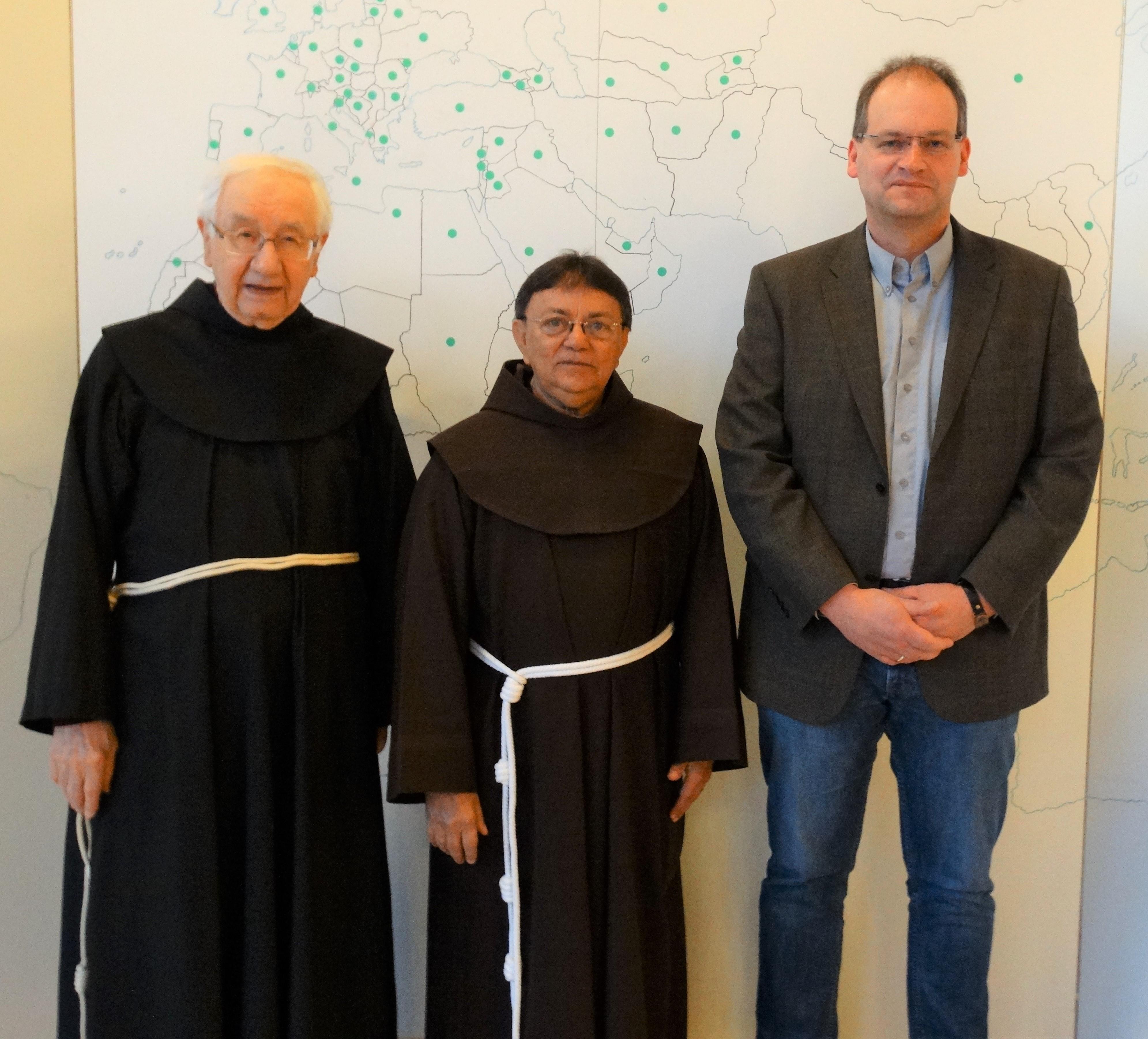 Pater Osmar, Pater Amilton, Thorsten Bahlmann